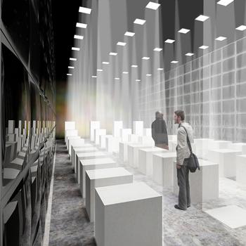 Czasy - projekt wystawy o tematyce architektonicznej zrealizowany we współpracy z Kamą Wróbel.